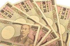 Japonais 10000 Yens Photographie stock