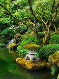 Japonais Zen Lake Botanical Garden, Feng Shuei photographie stock