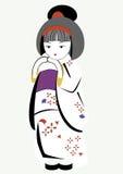 Japonaise de fille Photo stock