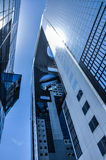 Japonia architektura, Umeda nieba budynek Zdjęcia Royalty Free