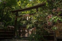 Japonia bramy świątynny arashiyama obrazy royalty free