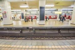 Japonia dworzec Zdjęcie Royalty Free