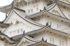 Japonia: Himeji kasztel Zdjęcia Stock