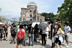 Japonia Hiroszima pokoju park fotografia stock