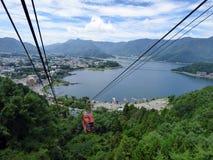 Japonia Jeziorny Kawaguchiko obraz royalty free