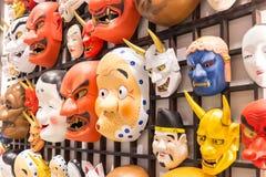Japonia maski kultura Obraz Stock