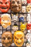 Japonia maski kultura Zdjęcie Stock