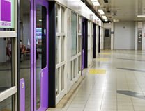 Japonia metra platforma Obrazy Stock
