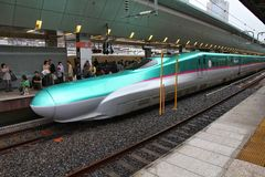 Japonia pociska pociąg Obraz Stock