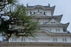 Japonia podróż, Himeji kasztel, Kwiecień 2018 zdjęcie stock