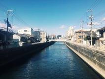 Japonia rzeka Zdjęcia Stock