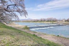 Japonia rzeka Obraz Royalty Free