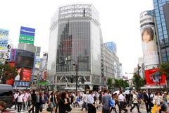 Japonia: Shibuya zdjęcie stock