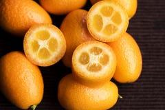 Japonica der japanischen Orange oder der Zitrusfrucht Stockbild
