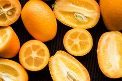Japonica der japanischen Orange oder der Zitrusfrucht Stockfotografie