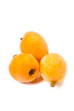 Japonica do Loquat-Eriobotrya Foto de Stock Royalty Free