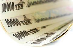 Japonés Yen Cash Fotos de archivo