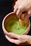 Japońska herbaciana ceremonia Fotografia Royalty Free