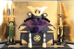 Japoński chłopiec festiwal Zdjęcia Royalty Free