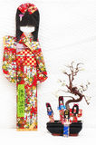 Jappo dolls Royalty Free Stock Image