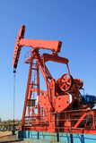 Jaque da bomba de petróleo foto de stock royalty free