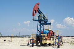 Jaque da bomba de petróleo imagem de stock royalty free