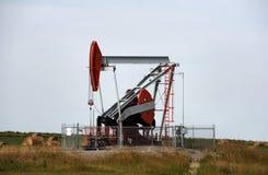 Jaque da bomba de petróleo Fotos de Stock Royalty Free