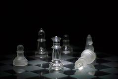 Jaque mate del ajedrez imagen de archivo