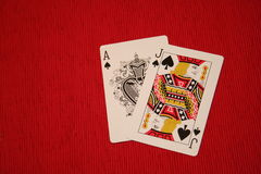 Jaque preto Imagens de Stock Royalty Free