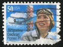 Jaqueline Cochran Fotografía de archivo libre de regalías