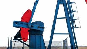 Jaques de trabalho da bomba de óleo filme
