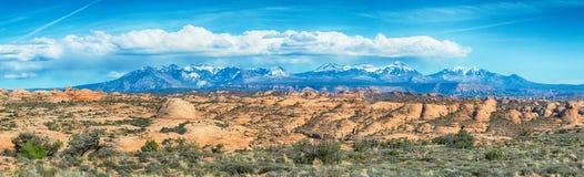 Jarów badlands i Colorado lanadscape Zdjęcie Stock