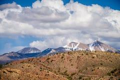 Jarów badlands i Colorado skalistych gór lanadscape Zdjęcia Royalty Free