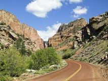 jarów gromadzki kolob np Utah zion obrazy stock