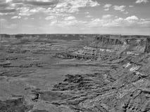 Jarów obręczy Rekreacyjny teren w Utah Zdjęcia Stock