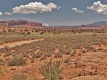 Jarów obręczy Rekreacyjny teren w Utah Fotografia Royalty Free