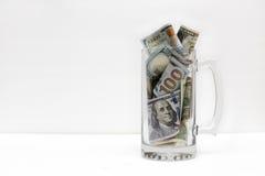jar деньги Стоковое Фото