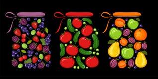 jar stock illustrationer