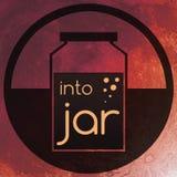 Into Jar Stock Photos