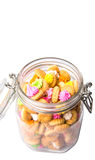 A Jar Of Belly Button Ice Jem Biscuits VIII Royalty Free Stock Photos