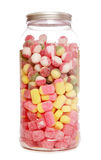 Jar of boiled sweets Stock Images