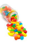 Jar of candy Stock Photo