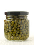 Jar Of Capers Stock Image