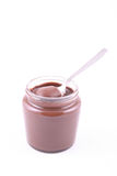 Jar of chocolate Royalty Free Stock Photography