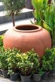 Jar of clay Royalty Free Stock Photo