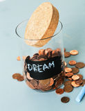 Jar for coins Stock Photography