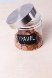 Jar for coins Royalty Free Stock Photography