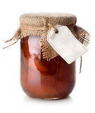 Jar of confiture Stock Image