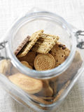 Jar of cookies Stock Photo