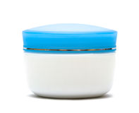 Jar of cream isolated Royalty Free Stock Photos